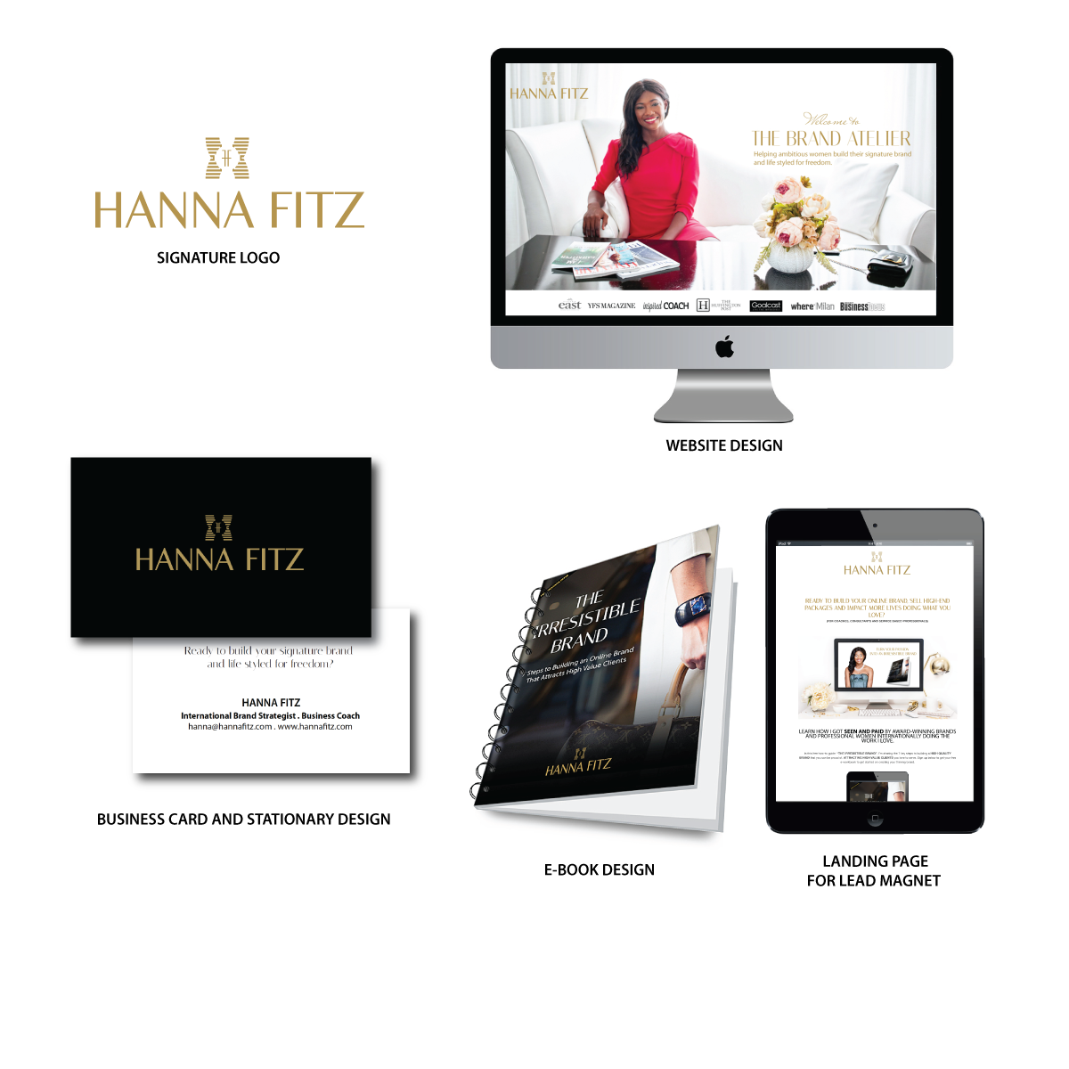 Total Luxury Brand Makeover Hanna Fitz Brand Strategist And Online Business Coach